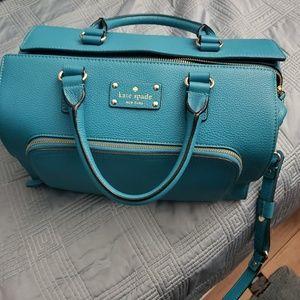 Kate Spade Leather Satchel Handbag